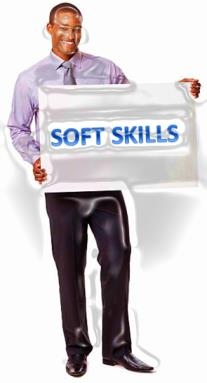 We develop a wide range of soft skills (personal development) training material