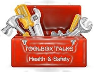 Our toolbox talks will provide you with essential information and practical guidelines